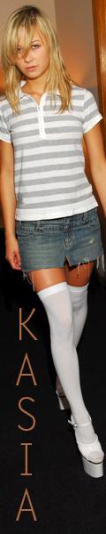 Teen Kasia Jean Skirt